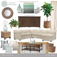 Mood Board // Coastal Master Bedroom - K Sarah Designs