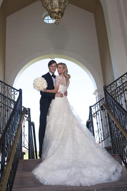 PHOTOS Ivanka Trumps lavish wedding