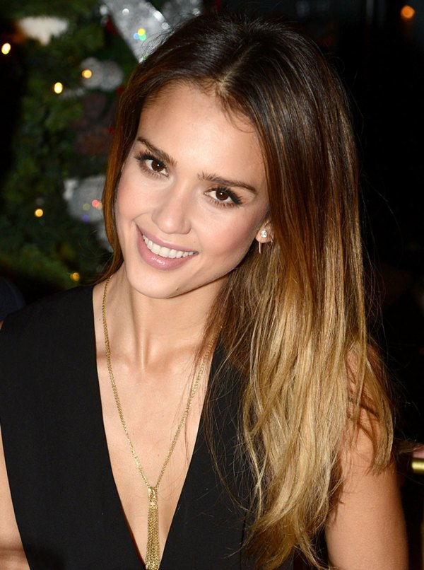 Jessica Alba Stuns Salvatore Ferragamo Dinner In London