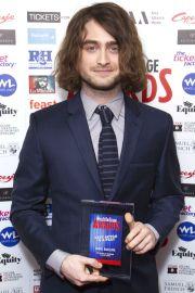 daniel radcliffe's long hair taught