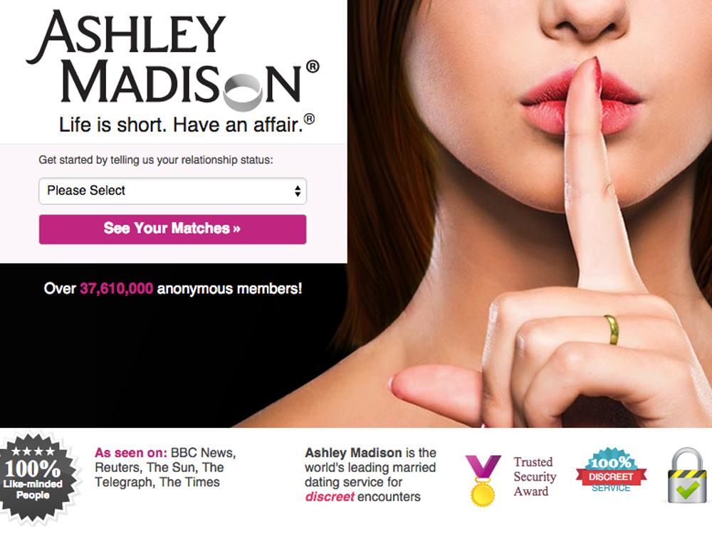 the ashley madison hack