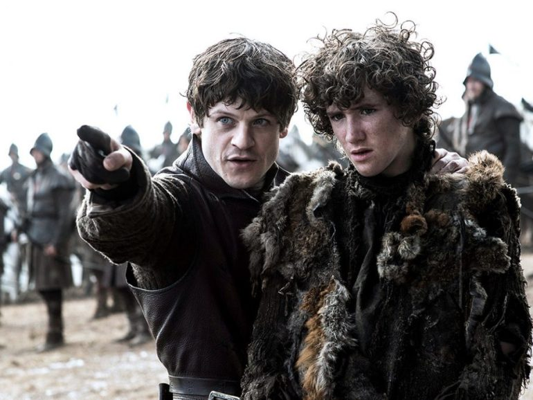 rickon stark ramsay bolton picture battle of bastards game of thrones