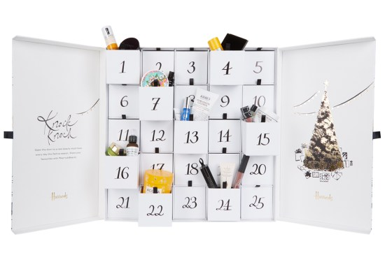 beauty advent calendars Harrods 2018