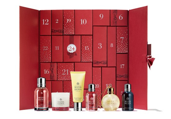 beauty advent calendars 2018 Molton Brown
