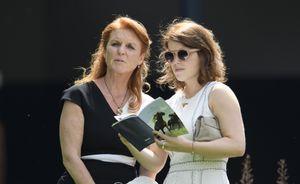 sarah ferguson princess eugenie wedding
