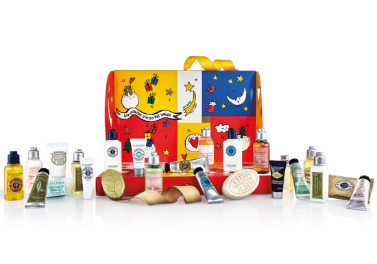 beauty advent calendars 2018 L'Occitane