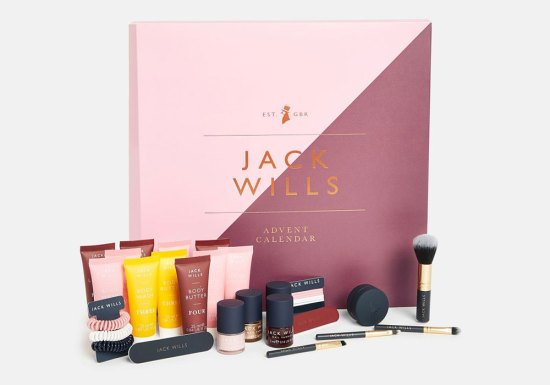 beauty advent calendars 2018 Jack Wills
