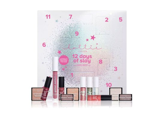 beauty advent calendars 2018 Lottie London