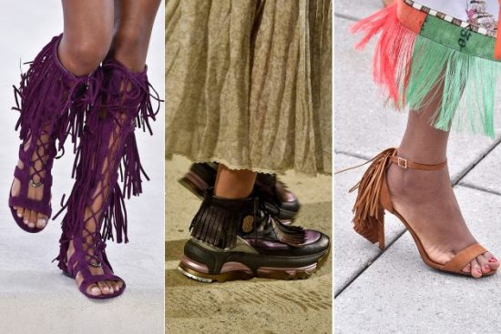 spring summer shoe trends