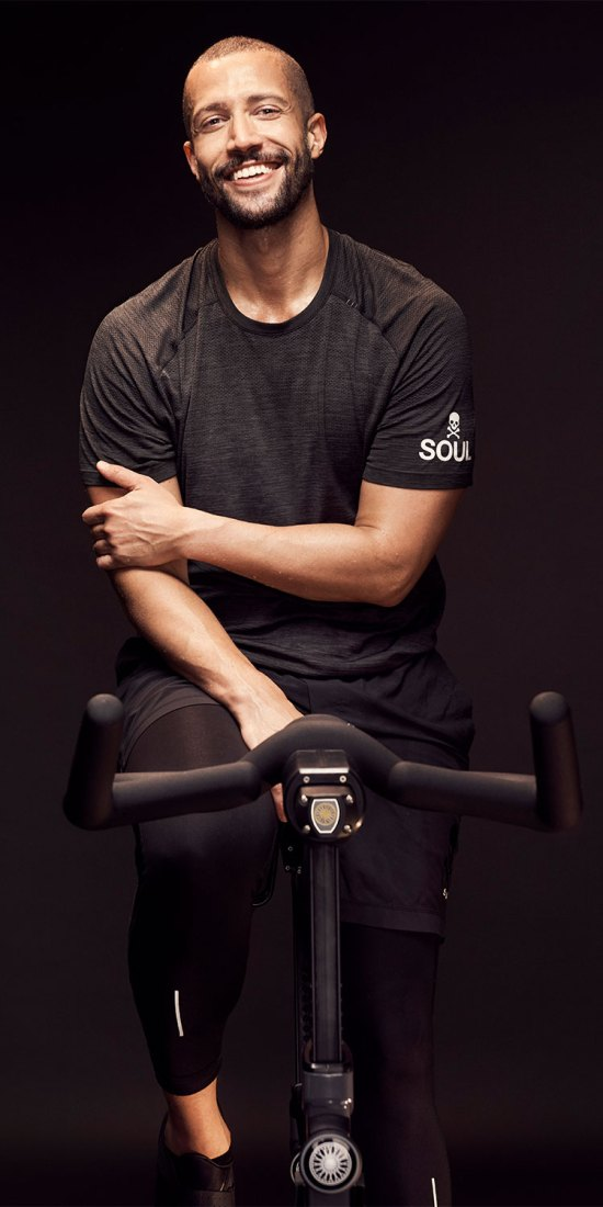 SoulCycle Master Trainer and Director of Global Talent, Marvin Foster Junior