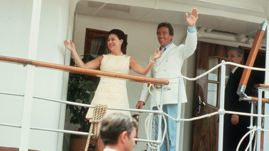 La princesa Margarita y su marido, Anthony Armstrong-Jones, llegando a Mustique.