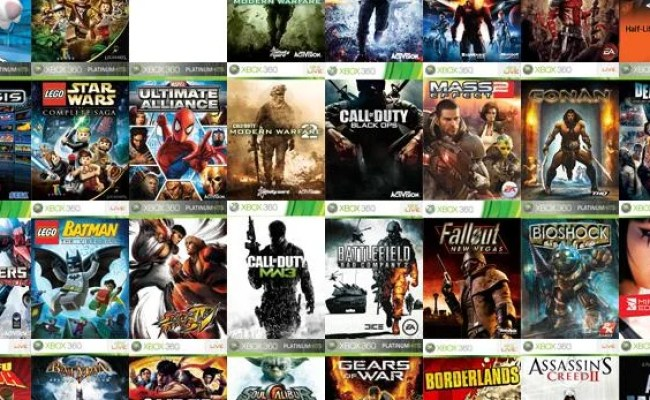 Xbox One Backwards Compatibility List All The Xbox 360