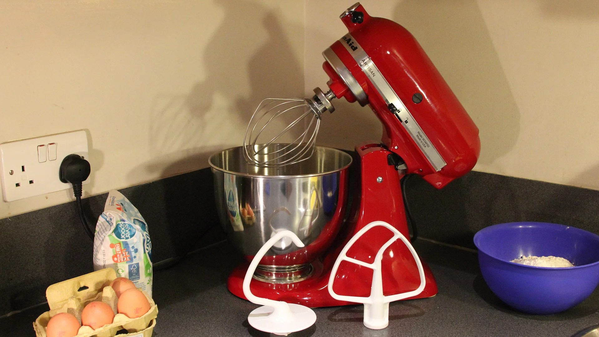 KitchenAid Artisan 48L Stand Mixer Review  Trusted Reviews