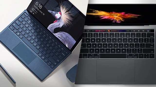 New Surface Pro 2017 vs MacBook Pro Whats the difference