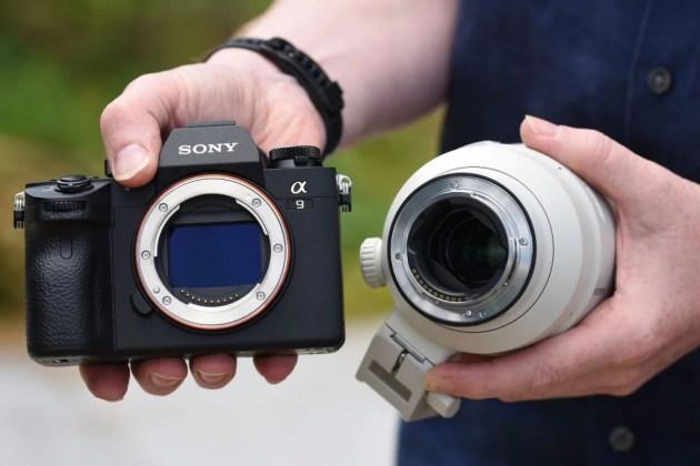 Sony 100-400mm GM крепление