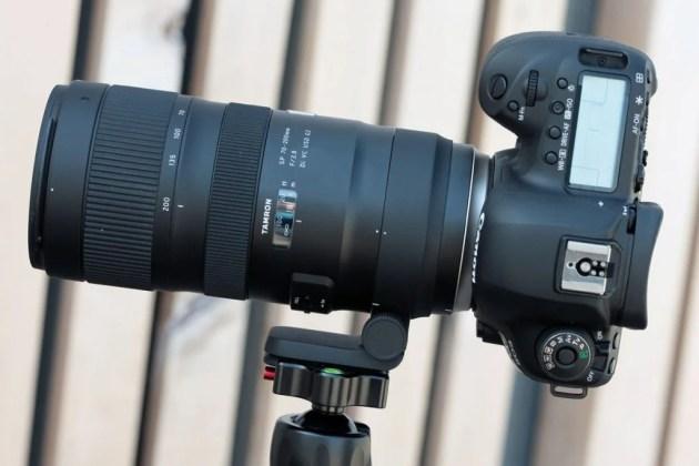 Tamron 70-200mm F / 2.8 G2 портретная ориентация