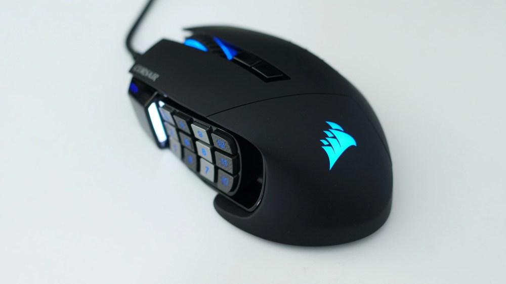 medium resolution of best gaming mouse corsair scimitar pro rgb