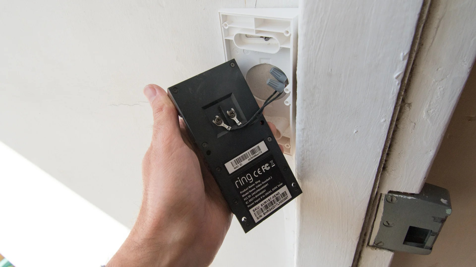 hight resolution of as i already had a doorbell i used its existing wires to hook up the video doorbell 2 the bundled extension cables were handy for mounting the unit to the