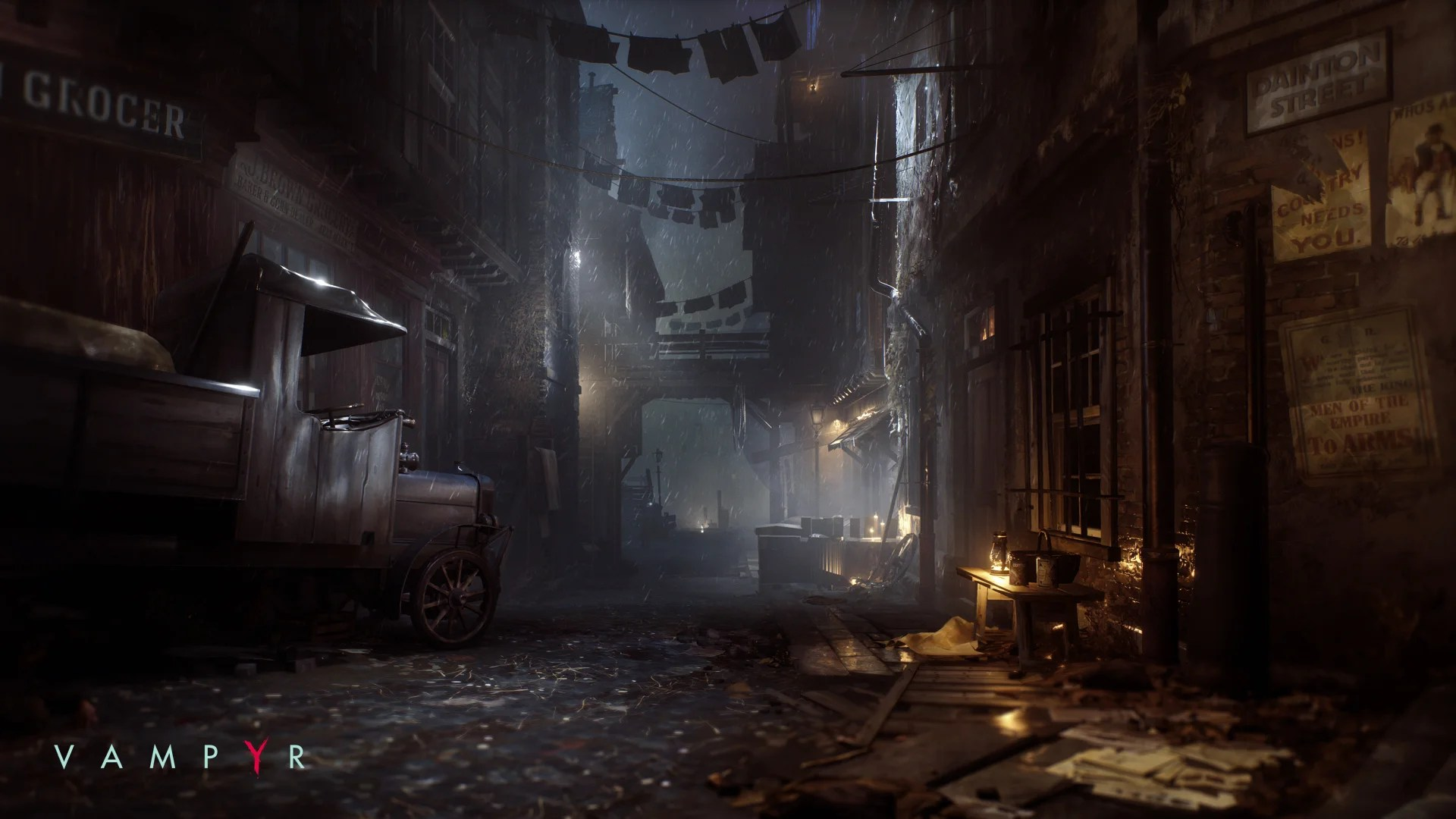 Vampyr DONTNODs gothic adventure gets a release date  Trusted Reviews