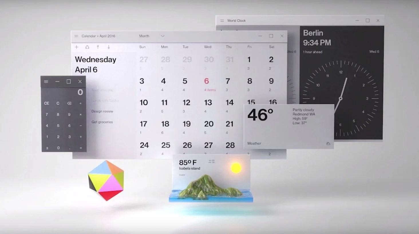Iphone 5 Fitness Wallpaper Microsoft S Fluent Design Will Start To Slip Into Windows