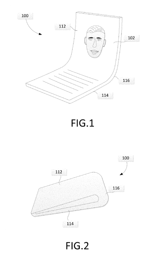 google folding phone patent