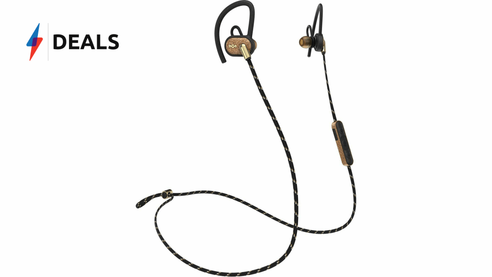 medium resolution of don t sweat it with a sizzling 10 off the house of marley sports earphones