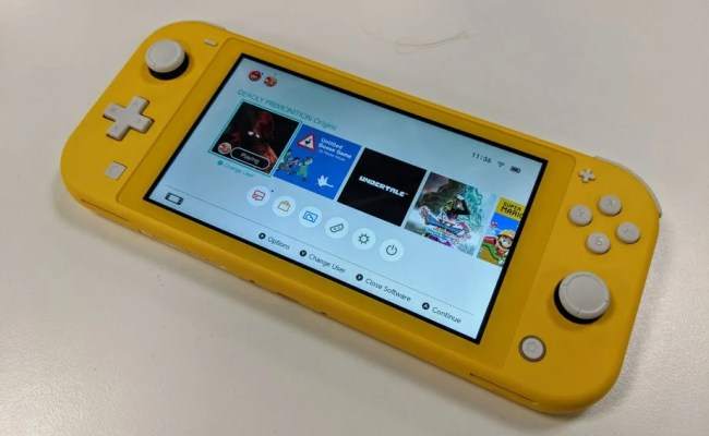 Nintendo Switch Lite Review A Slice Of Portable Gaming