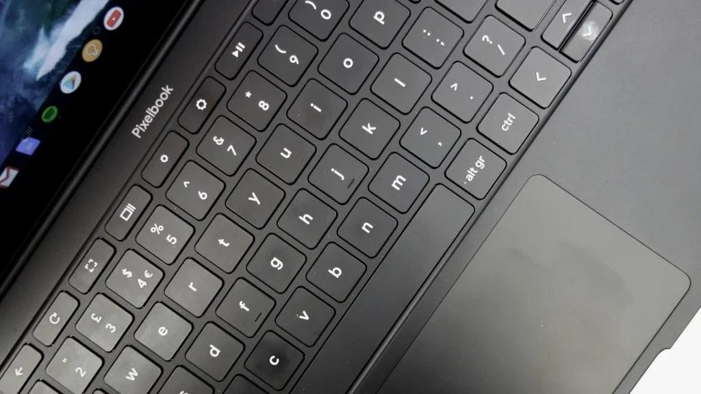 Pixelbook Go клавиатуры
