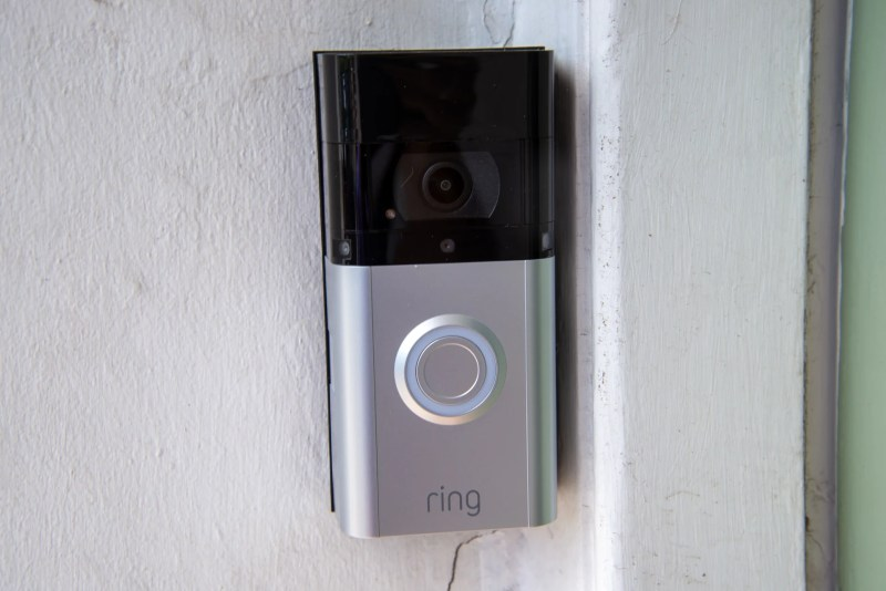 Ring Video Doorbell 3 Plus front on