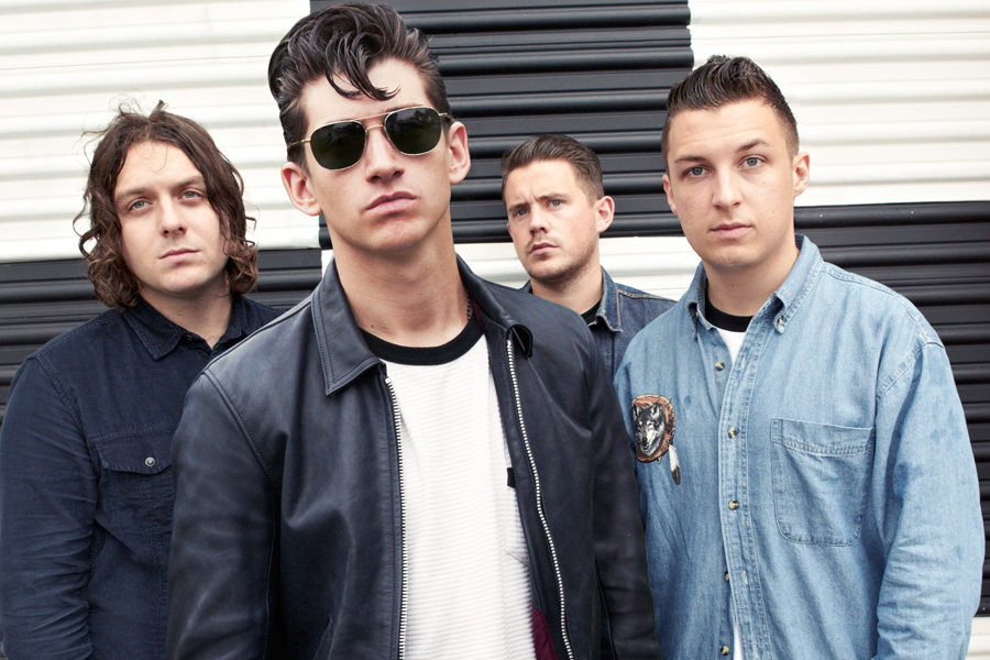 Image result for image of the arctic monkeys band