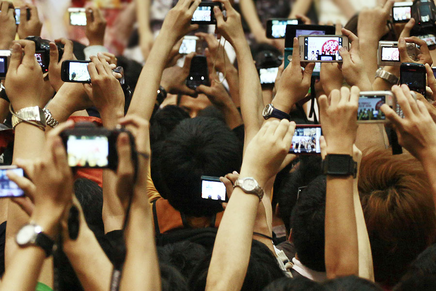 Image result for cameras at gigs