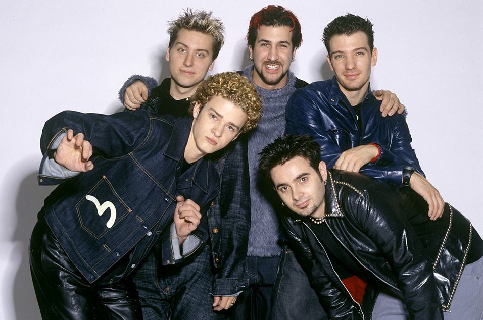 than and nsync bands boys boy popsugar entertainment backstreet other