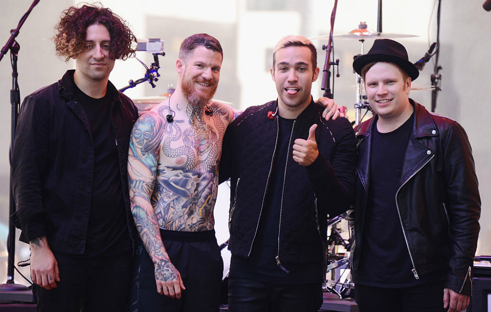 Fall Out Boy Patrick Stump Wallpaper Fall Out Boy Share Cryptic Video Teasing New Project Nme