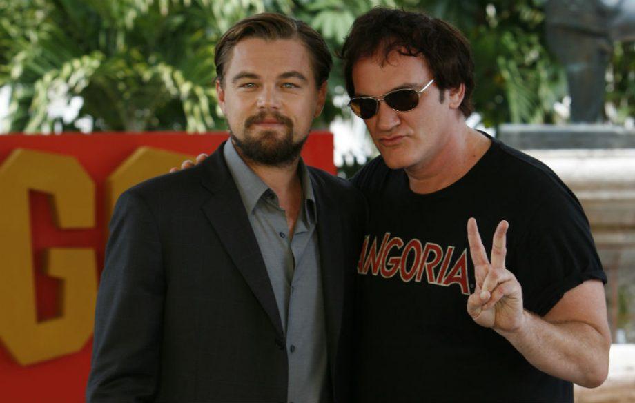 Image result for Leonardo DiCaprio Quentin Tarantino