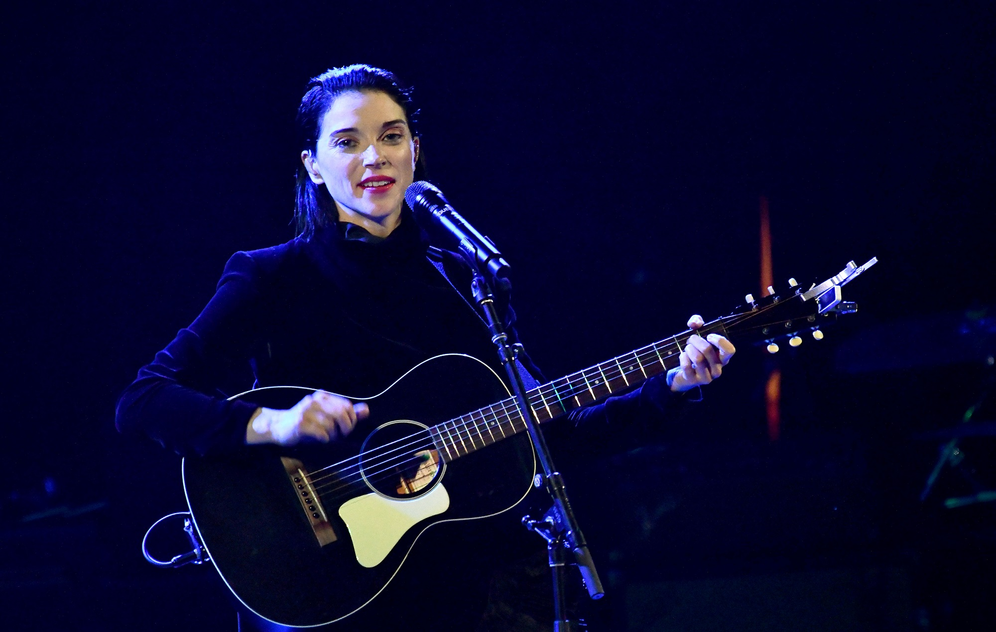 Watch St Vincent nail an acoustic cover of Red Chili