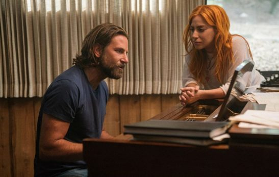 Image result for lady gaga and bradley cooper piano