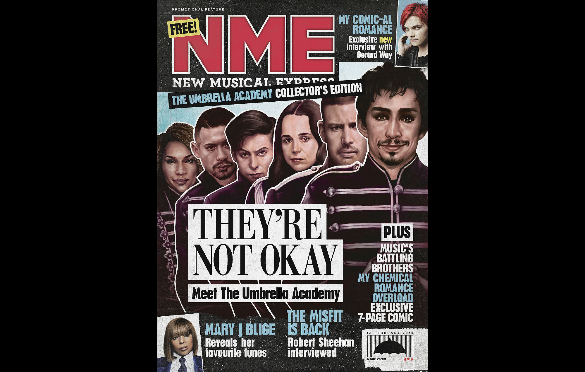 Pick Up Your Free The Umbrella Academy Special Issue Of NME