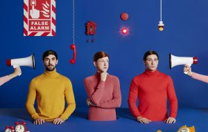 Listen To Two Door Cinema Club's New Single 'Satellite' As Band Announce New Album 'False Alarm'