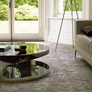 carpet patterned living flooring carpets texture rooms bedrooms rugs textured tile wool soft tamu ruang menjadikan kelihatan cermin idea runners