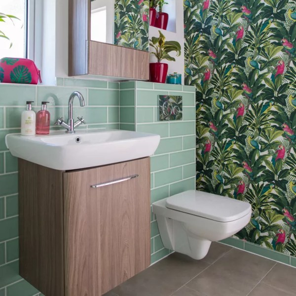 Bathroom Wallpaper Ideas Elevate Space