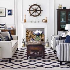 Coastal Living Room Decorating Ideas Uk Corner Fireplace Set Up Rooms To Recreate Carefree Beach Days Chic Hamptons Style