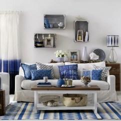 Coastal Living Room Decorating Ideas Uk Tv Shelves Rooms To Recreate Carefree Beach Days Island Style Boho
