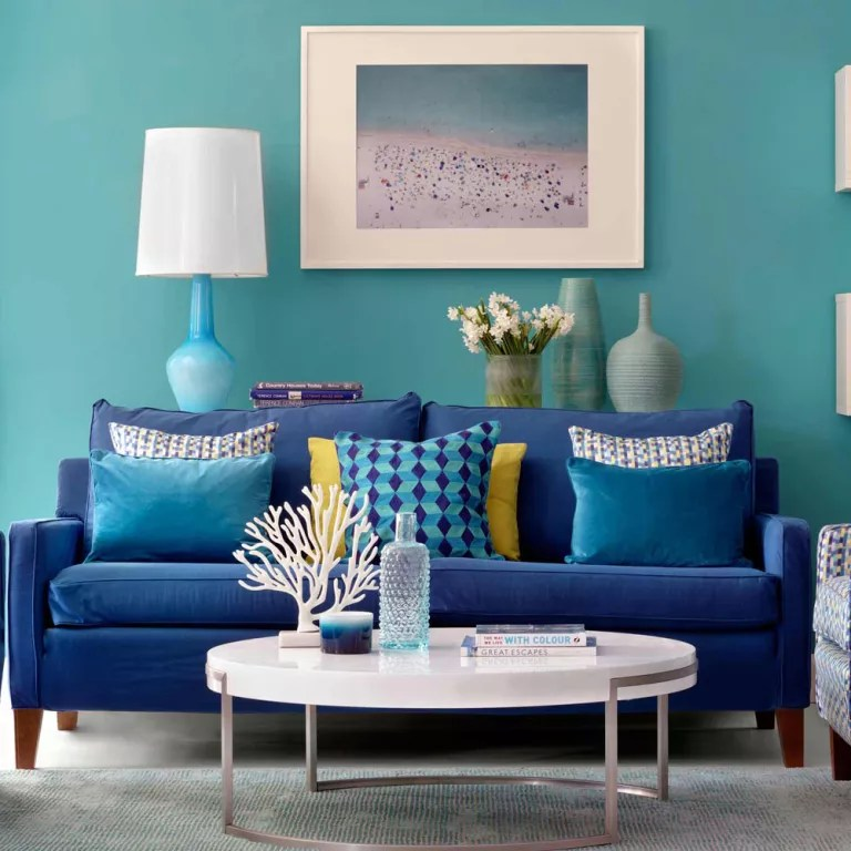 grey white turquoise living room cheap rooms sets colour schemes take on
