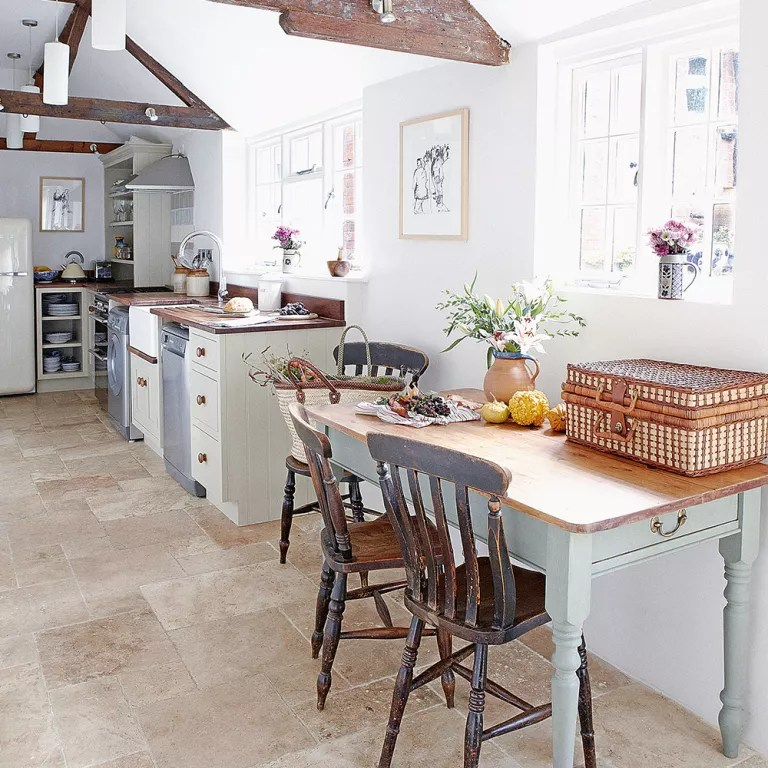 Kitchen flooring ideas  for a floor thats hardwearing practical and stylish