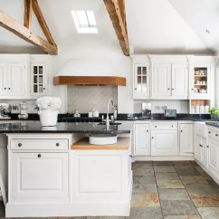 White Kitchen Floor Shallow Sink Flooring Ideas For A That S Hard Wearing Practical Natural Colin Poole