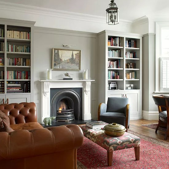 Victorian Sitting Rooms: Edwardian Living Room Colour Schemes