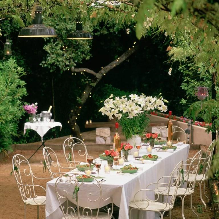 Garden party ideas  Garden party  Garden entertaining