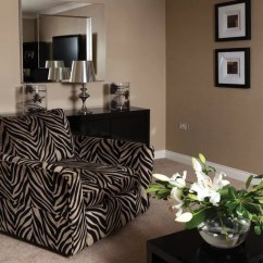 Leopard Print Living Room 3 Piece Reclining Set Decorating With Animal Prints Ideal Home Zebra Armchair Ideas Photo Gallery Housetohome