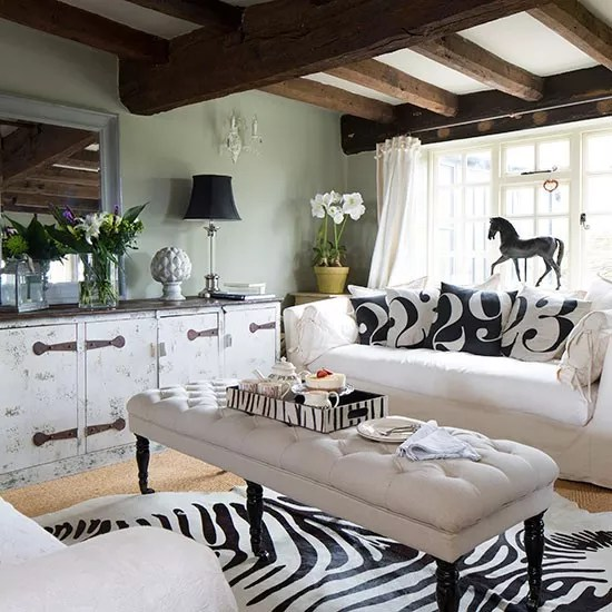 animal rugs for living room show me some designs decorating with prints ideal home country faux zebra skin rug ideas