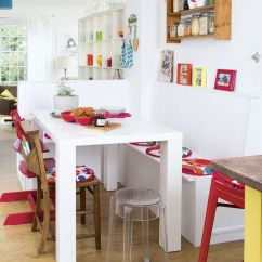 Small Kitchen Table Ideas Rolling Island Cart Ikea Dining Room Set Built In Seating